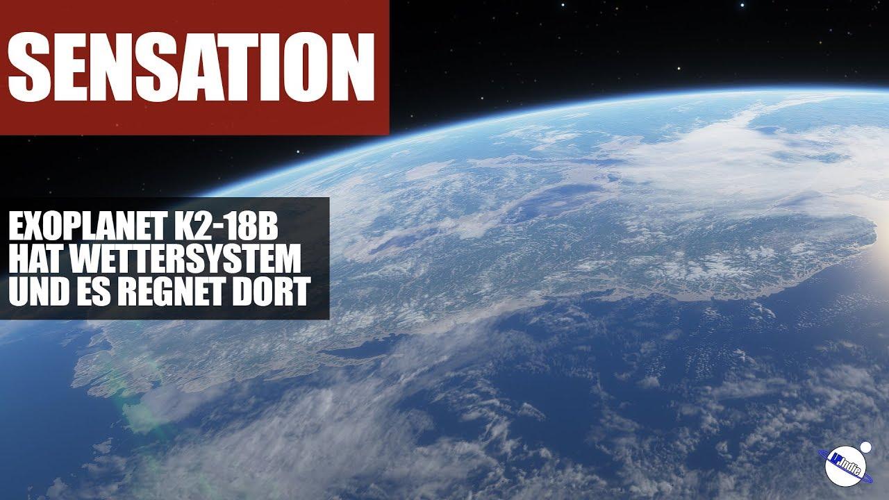 Sensation - Auf Exoplanet K2-18b gibt es Wolken und es regnet