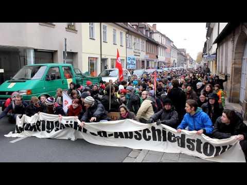 Demo gegen Studiengebühren, Erlangen 2012