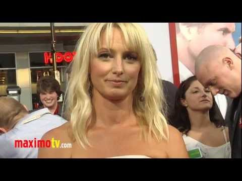"Katherine LaNasa Interview ""The Campaign"" Los Angeles Premiere Arrivals"