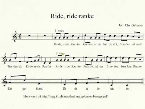 ride ride ranke