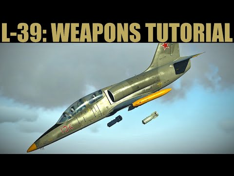 L-39 Albatros: Guns, Rockets, Bombs & Missiles Weapons Tutorial | DCS WORLD