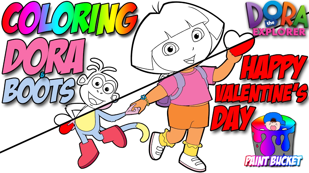 Dora the Explorer Coloring Pages - Nickelodeon Nick Jr. Coloring ...