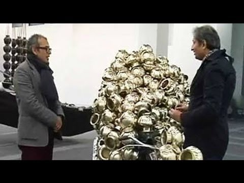 Subodh Gupta explains the hidden meanings behind some of his sculptures