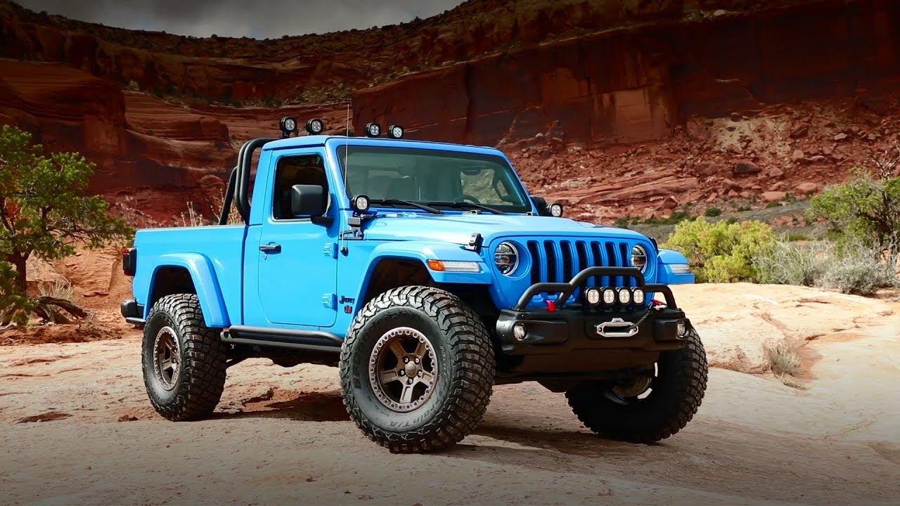 2019 Moab Easter Jeep Safari All The Cool Jeep Mopar Concepts