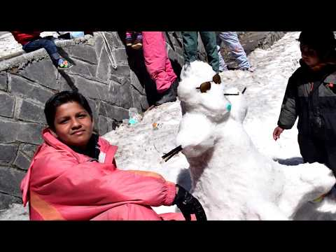 Himachal Tour   Day 7   Manali   Solang Valley - Snow Point