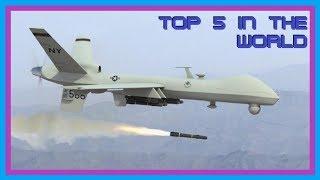 TOP 5 DES MEILLEURS DRONES DE COMBAT AU MONDE (2019)