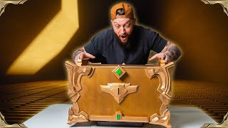 Riot Games built me a ONE-OF-A-KIND Puzzle Box!! - Legends of Runeterra