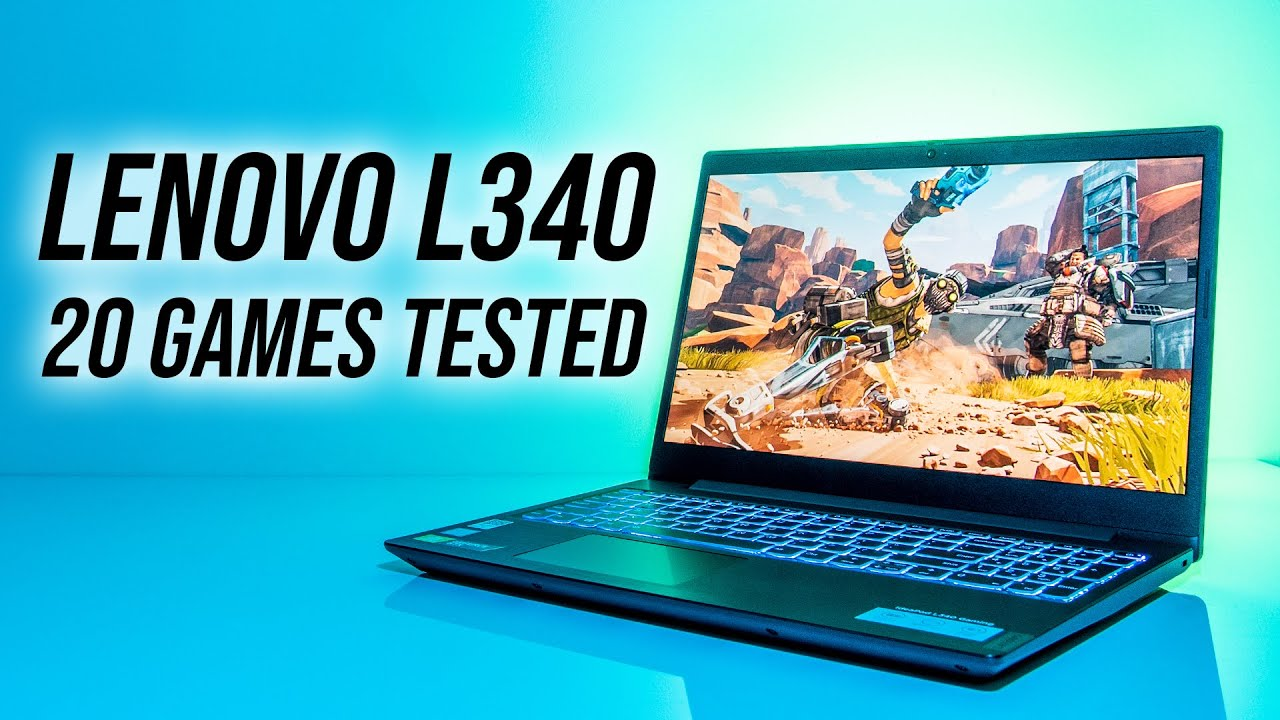 Lenovo IdeaPad L340 Gaming Laptop Benchmarks - 20 Games Tested!