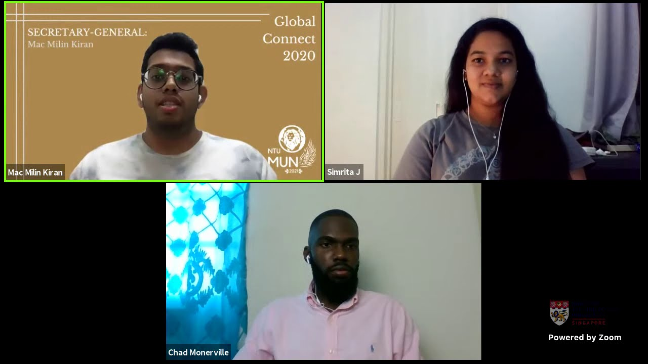NTUMUN The Global Connect Ep 2 - Professional Development Of The Youth In The New Normal