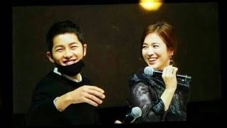 Song Joong Ki & Song Hye Kyo Sweetest Moments @ Song Hye Kyo 20th Anniversary Fanmeeting thumbnail