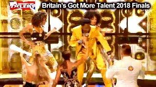 Donchez Dacres Wiggle Wine - BGT ANTHEM THE MOST FUN ACT Britain's Got Talent 2018 Final BGT S12E13