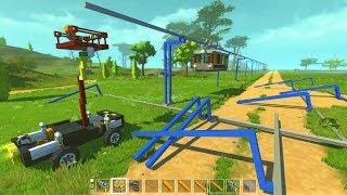 Budowa prostego toru - Scrap Mechanic S02E06