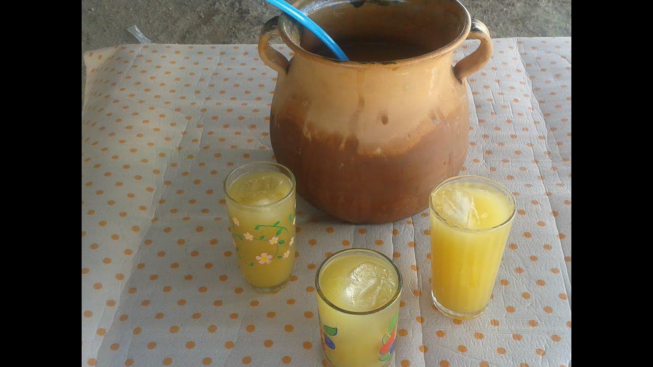 como hago el tepache bebida fermentada de piña - YouTube