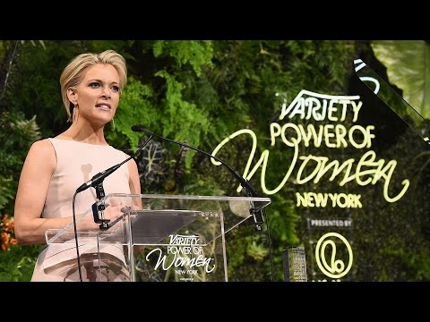 Megyn Kelly Talks Donald Trump at Variety's Power of Women