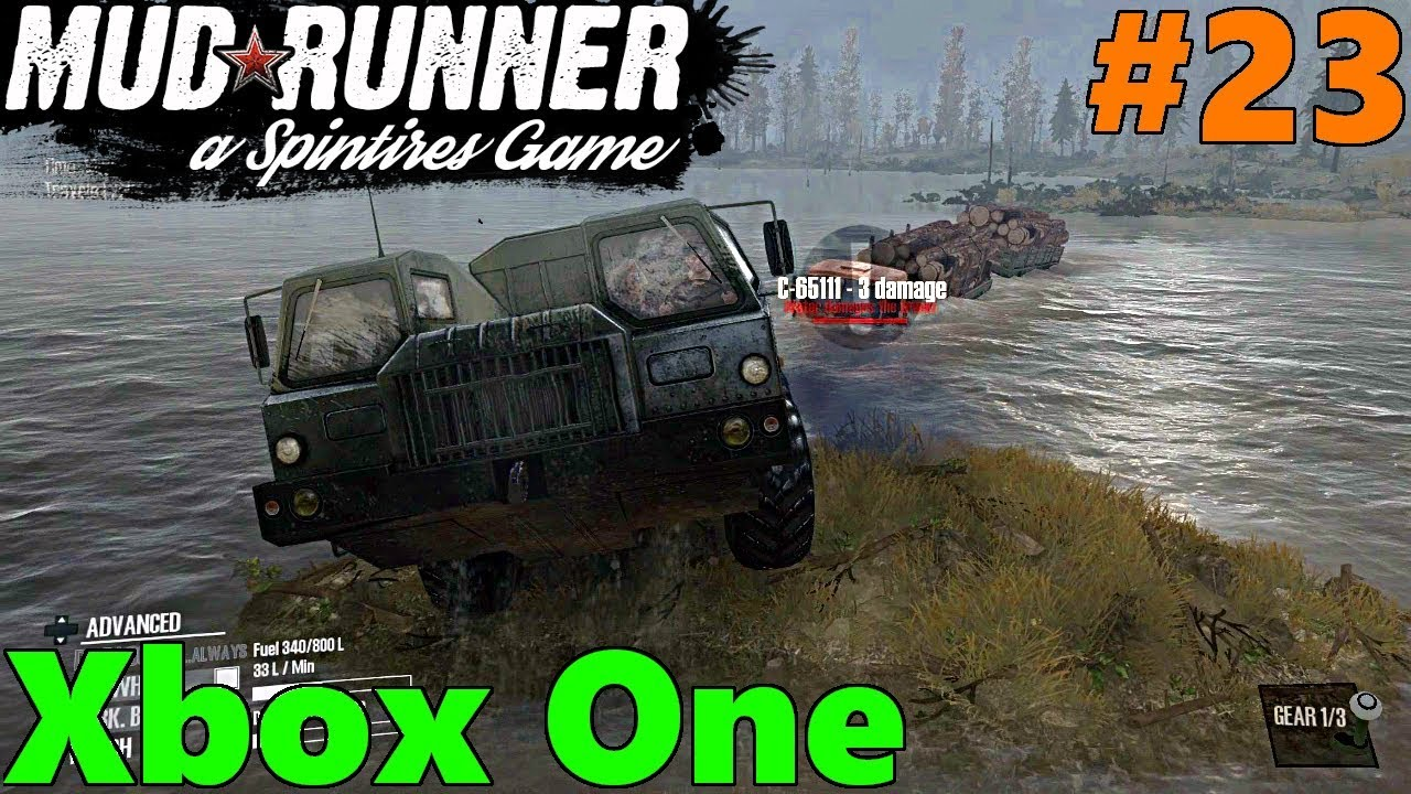 spintires mud runner xbox one let 39 s play part 23 8x8. Black Bedroom Furniture Sets. Home Design Ideas