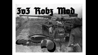 3v3 Men of War Assault Squad 2 Robz Multiplayer #10 (HEAVY MORTAR CARNAGE)