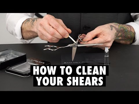 Love Thy Tool: How to Clean & Oil Your Haircutting Shears