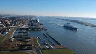 Westlandse drone Hoek van Holland Stena Line