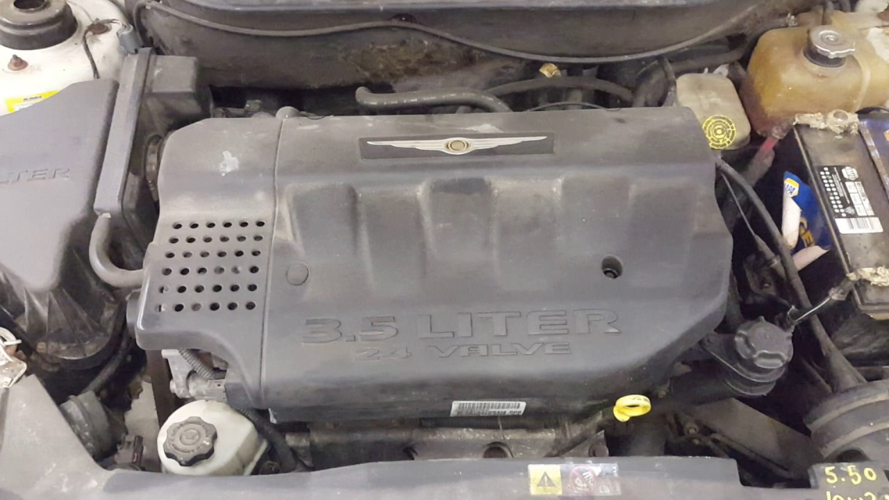 Dd0357 2005 Chrysler Pacifica Touring 3 5l Engine