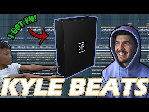 I BOUGHT ALL OF KYLE BEATS KITS AND MADE THIS...