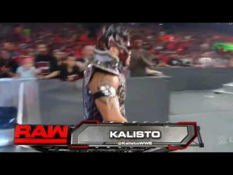 Kalisto debuts new theme song on Raw