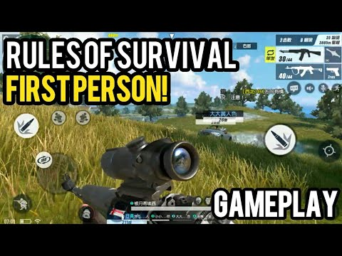 First Person Mode! Rules of Survival BETA Gameplay | iOS Android DOWNLOAD Link