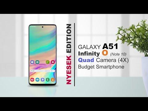 Mirip Note 10 - Galaxy A51 Harga 4 Jutaan Asli Bikin Ngiler