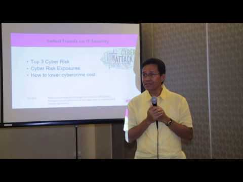 PISM Industry Group Forum: Latest Trends on IT Network Security 1 of 3