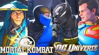 INJUSTICE 2 - ALL MK vs DCU Reference Dialogues!! MK vs Dcu 2?