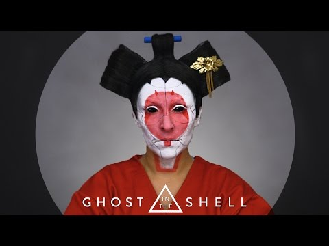 Ghost in the shell : Gejsza / Make up Tutorial