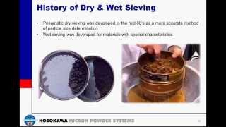 Particle Size Analysis with Dry & W