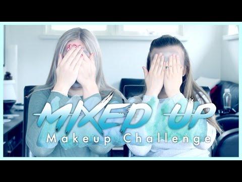 MIXED UP MAKEUP CHALLENGE! Ft. Kristine Bremnes