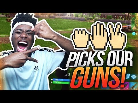 ROCK, PAPER SCISSORS PICKS OUR LOOT to WIN Fortnite: Battle Royale! CRAZIEST DUOS ENDING EVER!