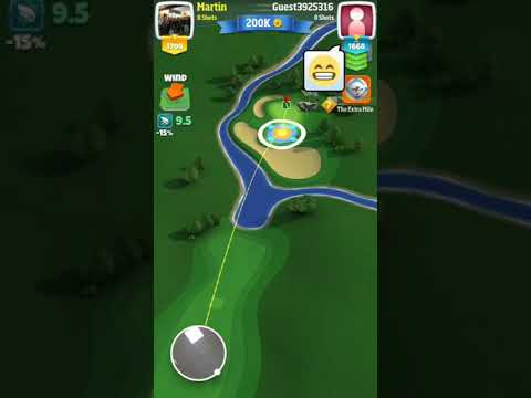Martin Draper Hole in One for 200k Golf Clash - 2017-10-30