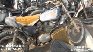 Motorcycle Projects & Builder Bikes APF Motorcycle Salvage December 2013