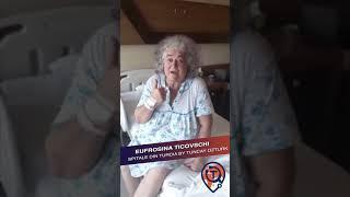 Operația De Diabet Tip 2:  Testimonial Eufrosina Ticovschi - Spitale Din Turcia by Tuncay Ozturk