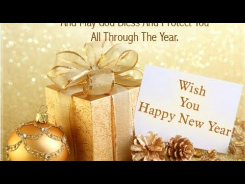 wish you all happy new year whatsapp status video