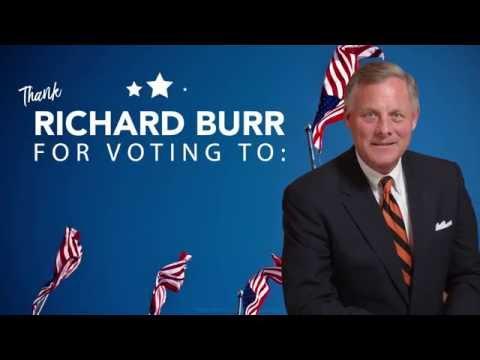 Thank Richard Burr