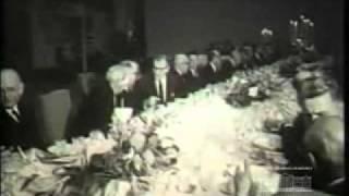 NELSON ROCKEFELLER, GOVERNADOR DE NOVA IORQUE, VISITA O BRASIL EM 1969.