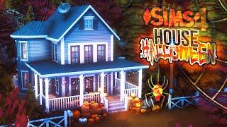 Маленький дом к Хэллоуину - СИМС 4 Строительство