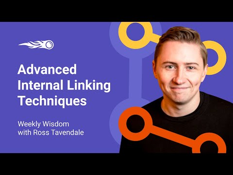 Advanced Internal Linking Techniques using semantic search by Ross Tavendale