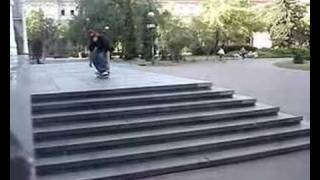 tre flip seven stairs