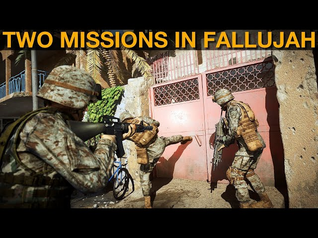 Two Over-watch Missions In Fallujah | Arma 3