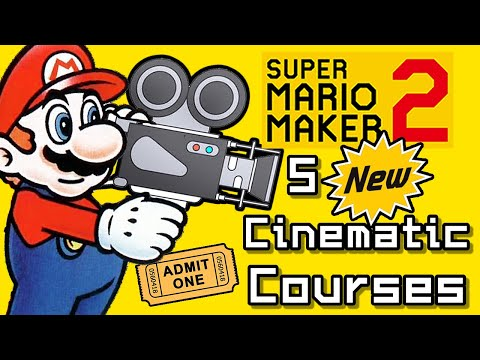 Super Mario Maker 2 Top 5 New CINEMATIC Courses (Switch)