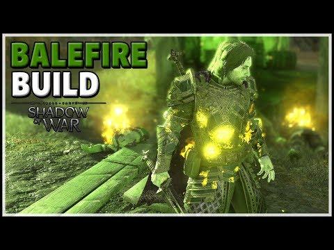 BUILD FOR GRAVEWALKER DIFFICULTY | Shadow of War - Balefire Elemental Build