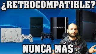 ¡SONY NUNCA MÁS HARÁ RETROCOMPATIBLE SU CONSOLA! - Sasel - Ps5 - playstation 4 - ps4