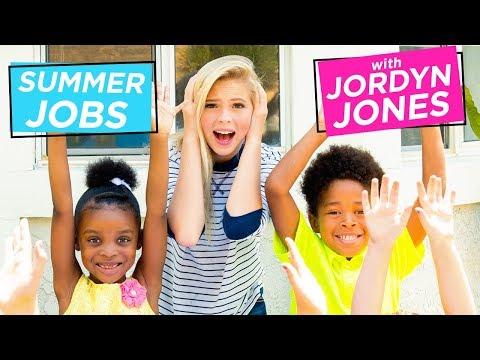JORDYN JONES BABYSITTING CHALLENGE | Summer Jobs w/ Jordyn Jones