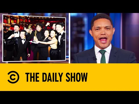 Parasite Makes History At The Oscars | The Daily Show With Trevor Noah