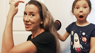 Styling Moms Hair