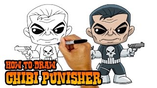 How to Draw Punisher | Marvel Comics